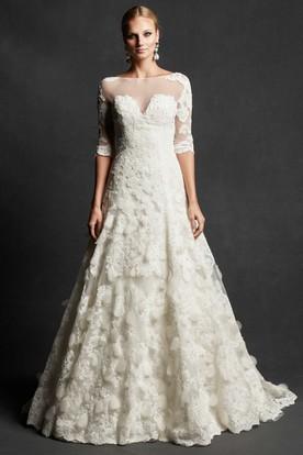 Cheap Modest Wedding Dresses | Wedding Dresses With Sleeves ...