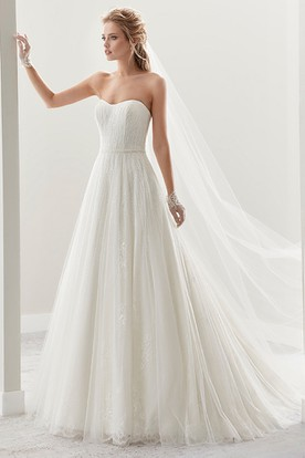 Exquisite Draping Bridal Gown With Pleated Design And Open Back