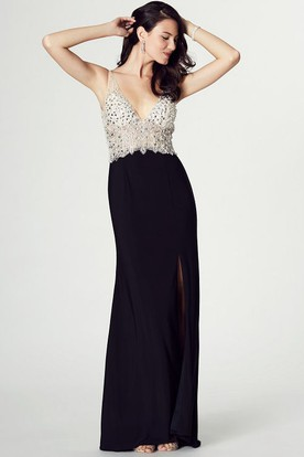 Black Backless Prom Dresses | Open Back Prom Dresses - UCenter Dress