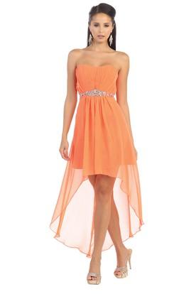 Short Orange Prom Dresses  Orange Dresses For Prom