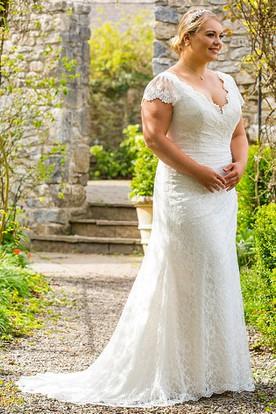 Stylish Geraldine Wedding Dress