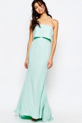 Duck egg color dress