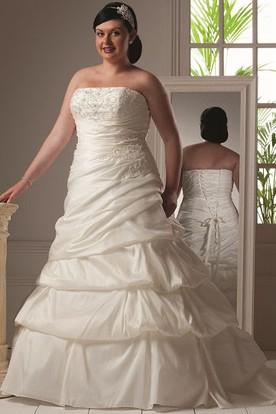 Plus Size Ball Gown Wedding Dresses - UCenter Dress
