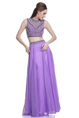Long Purple Prom Dresses | Lavender Prom Dresses - UCenter Dress