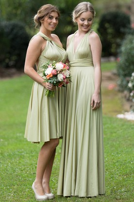 Sage Green Bridesmaid Dresses - Sage Bridesmaid Gowns - UCenter Dress