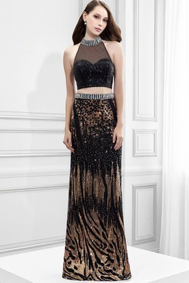 Black and Gold Prom Dresses  Gold And Black Dresses - UCenter Dress
