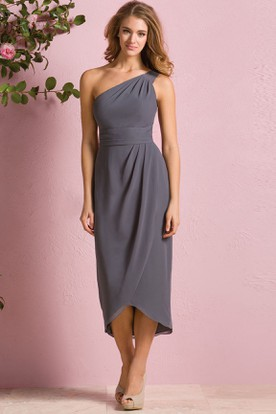 Charcoal Grey Bridesmaid Dresses | Charcoal Bridesmaid Gowns ...