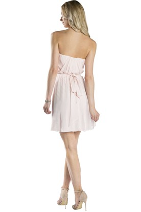Short Sweetheart Bowed Sleeveless Chiffon Muti-Color Convertible Bridesmaid Dress