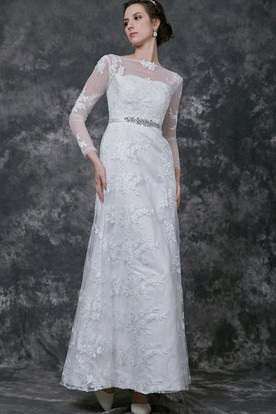 Formal gown for mature woman