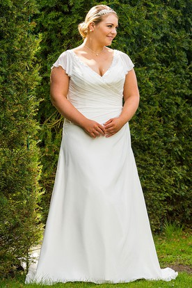Stylish Iris Wedding Dress
