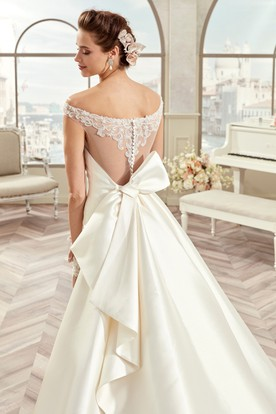 450088d5e857 Wedding Dresses with Bows in the Back – Fashion dresses
