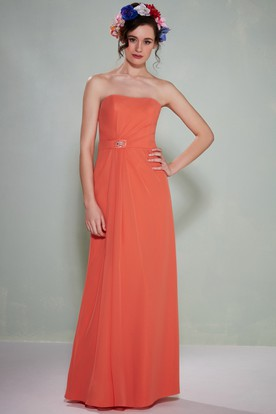 Orange Bridesmaid Dresses | Burnt Orange Dresses - UCenter Dress