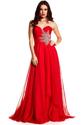 Red Backless Prom Dresses | Open Back Red Dresses - UCenter Dress
