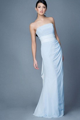 Light Blue Bridesmaid Dresses | Blue Bridesmaid Gowns - UCenter Dress
