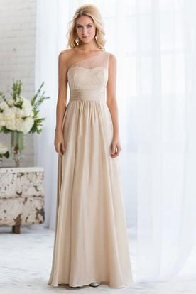 Tan Bridesmaid Dresses   Colored Lace Dresses - UCenter Dress