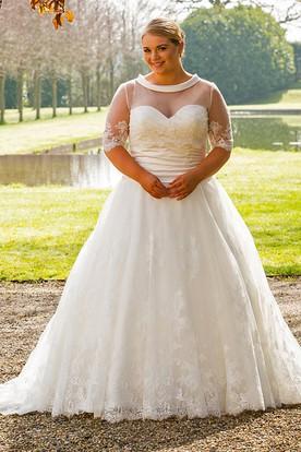 Impressive Lesley Wedding Dress