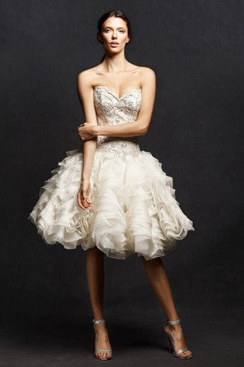Mid Length Wedding Dresses Knee Length Wedding Dresses UCenter - Mid Length Wedding Dresses