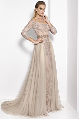 2c279f6815aa Champagne Formal Dresses | Champagne Evening Dresses - UCenter Dress