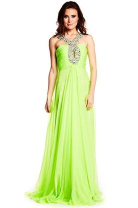 Lime Green Prom Dresses | Neon Green Dresses - UCenter Dress