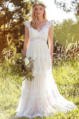 Country & Rustic Wedding Gowns, Country Bridals Dresses - UCenter ...