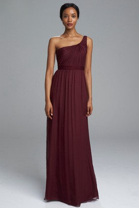 Night Moves One Shoulder Prom Dress