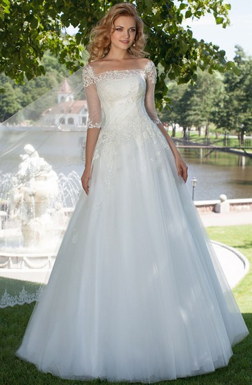 Lace Up Wedding Dresses | Corset Wedding Dresses - UCenter Dress