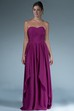 Sweetheart Chiffon Long Bridesmaid Dress With Cascading Skirt Detail