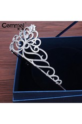 Bride Crown Headdress Korean Bride Micro-Embellished Wedding Day Wedding Dress Accessories