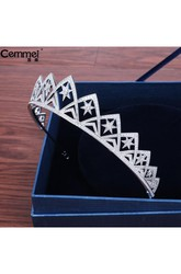 Bride Crown Headdress New Micro Inlaid Crystal Zircon Korean Wedding Wedding Dress Accessories