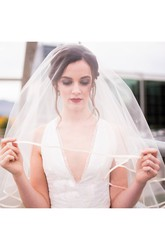 New Arrival Super Fairy Wedding Veils Simple Multi-Layer Wedding Travel Veil Short