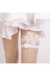 Western Style Bridal Garter Two Sets Of Princess Style Lace-up Lace Garter Within 16-23inch