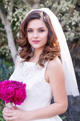 New Single Layer Bride Wedding Short Veil Brigade Photography Wedding Veil