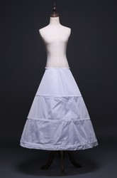 New Floor Length Skirt Petticoat with Three Steel Ring