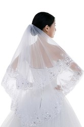 New Sequins Short Veil Can Be Covered with Simple And Versatile Beautiful Veil