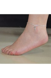 Summer Joker Fashion Simple Style Anklet