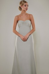 Sweetheart Sleeveless Empire Ruched Chiffon Bridesmaid Dress