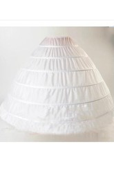 Large Size Bride Wedding Dress Petticoat with 6 Steel Ring