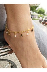 South Korea Popularity Hot Fashion Single Crystal Clear Anklet