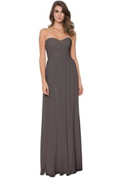 Criss-Cross Sleeveless Sweetheart Chiffon Muti-Color Convertible Bridesmaid Dress