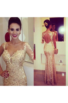 34d30f788475 Gorgeous Sequined Mermaid Evening Dresses Sweetheart Appliques Floor Length  Prom Gowns ...