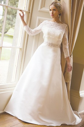 Mature women wedding dress