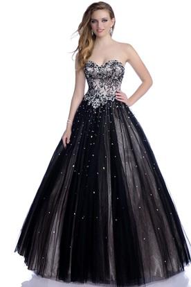 Black Prom Dresses | Black Long Dresses - UCenter Dress