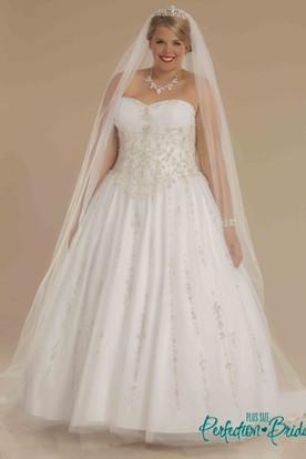Princess Sweetheart Wedding Dresses | Sweetheart Ball Gown Wedding ...