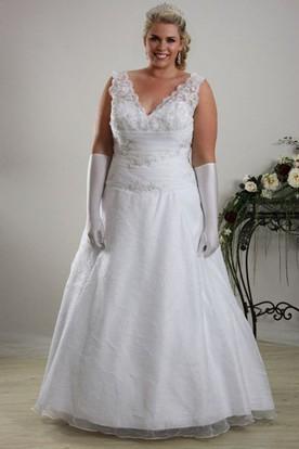 Full Figured Wedding Dresses | Plus Size Bridal Gowns - UCenter Dress