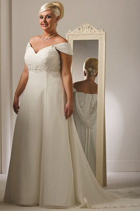 Plus Size Summer Wedding Dresses | Summer Wed Gowns - UCenter Dress