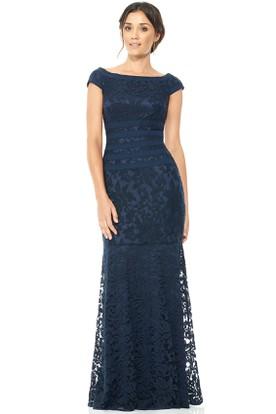 Short Sleeve Formal Dresses - Formal Dresses With Sleeves