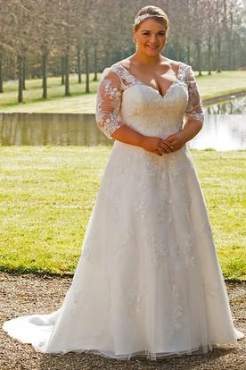 Women's Plus Size Bridal Gowns