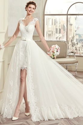 Wedding Dresses With Removable Skirt Ucenter Dress