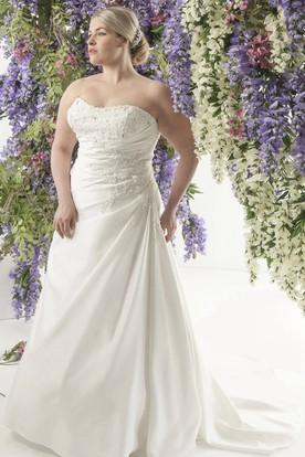 Adding Straps To A Strapless Wedding Dress Ucenter Dress