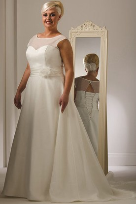 Informal Plus Size Wedding Dresses | Casual Plus Size Wedding Gowns ...